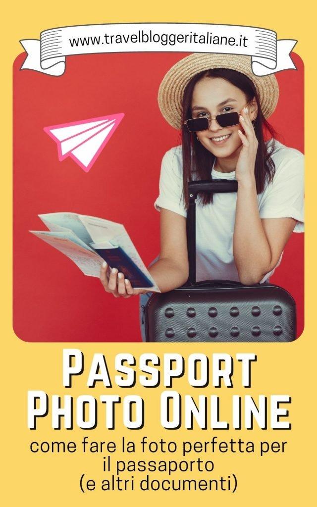 Passport Photo Online per scattare la foto passaporto perfetta