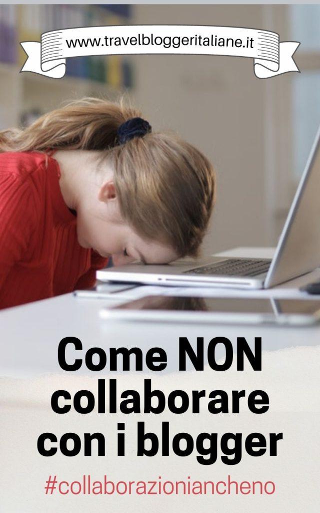 Le peggiori proposte di collaborazione che ricevono i blogger