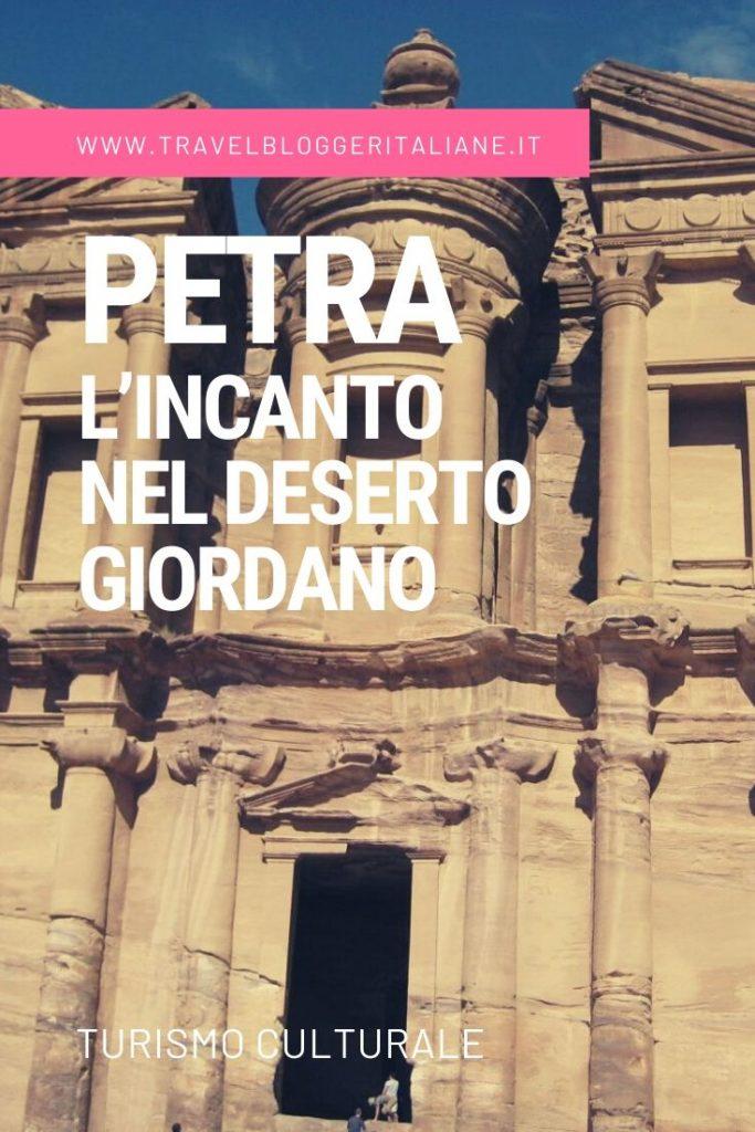 Turismo culturale: Petra, l'incanto nel deserto giordano