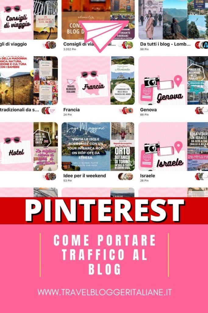 Come usare Pinterest per portare traffico al blog