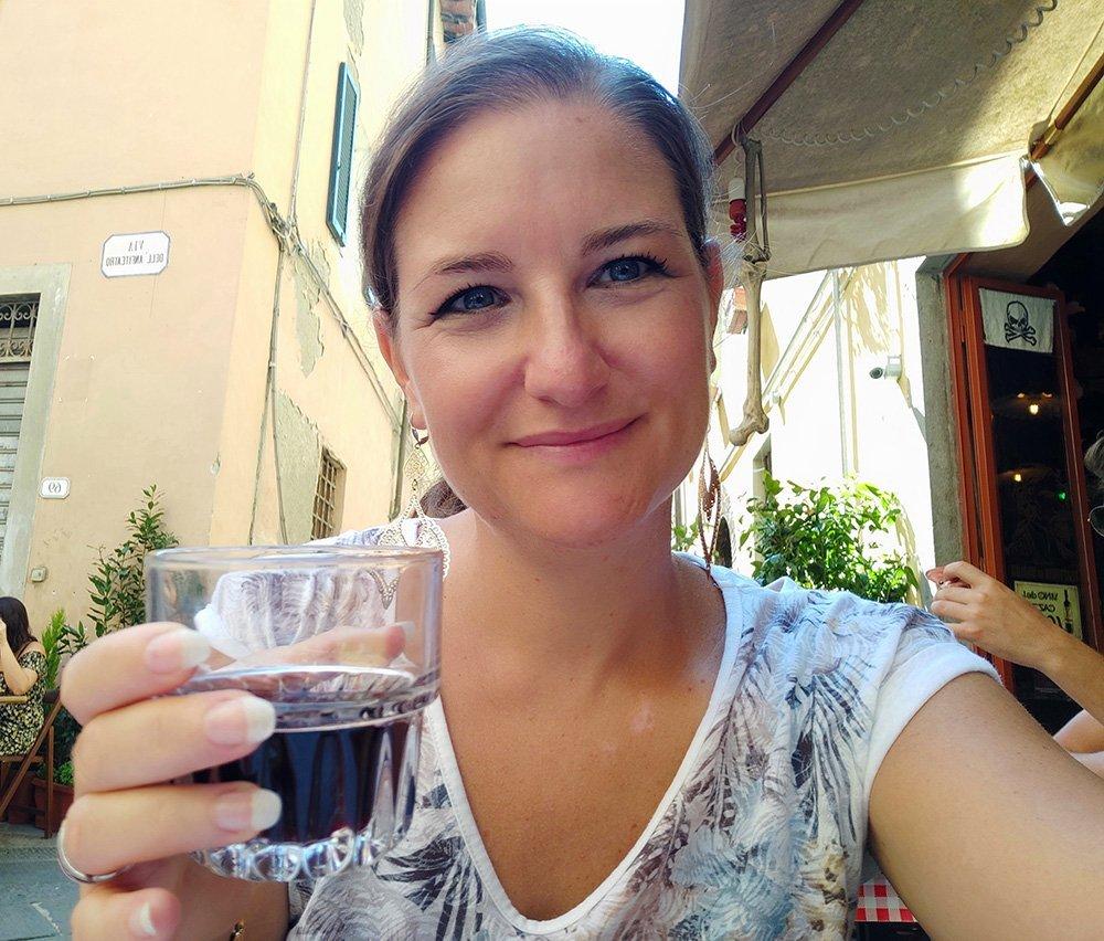 Salvina Fiducia di Una valigia per tutta la vita a Lucca