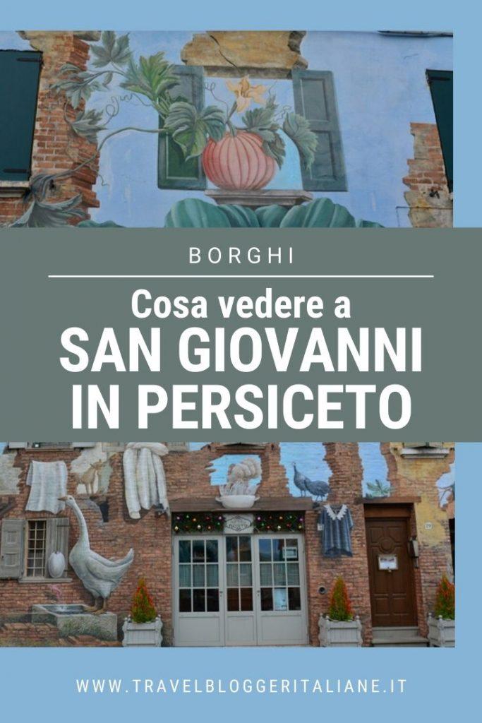 Borghi d'Italia: cosa vedere a San Giovanni in Persiceto