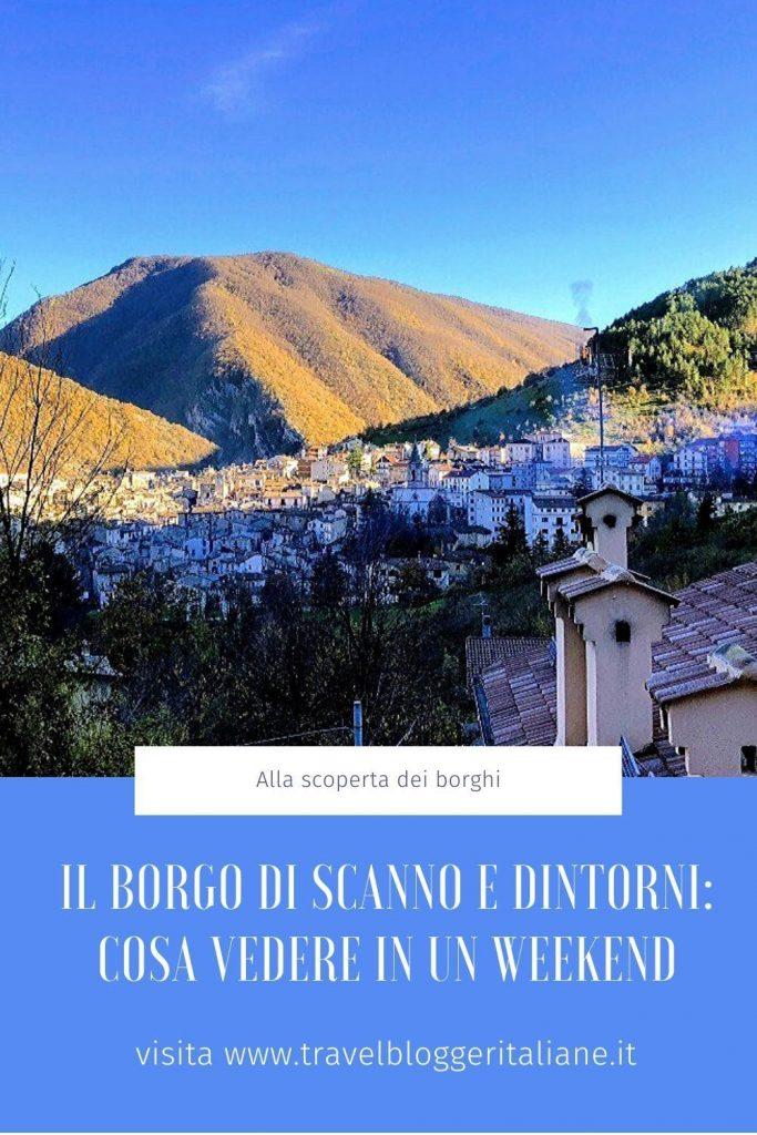 Il borgo di Scanno e dintorni: cosa vedere in un weekend