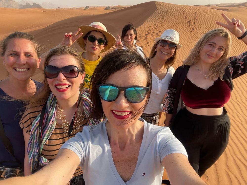 Le Travel Blogger Italiane a Dubai nel deserto di Sharjah per il fam trip #TBIDubai2021