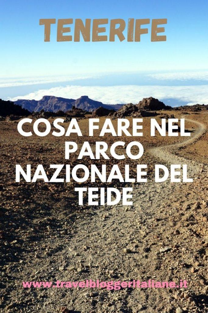 Trekking nel Parco nazionale del Teide