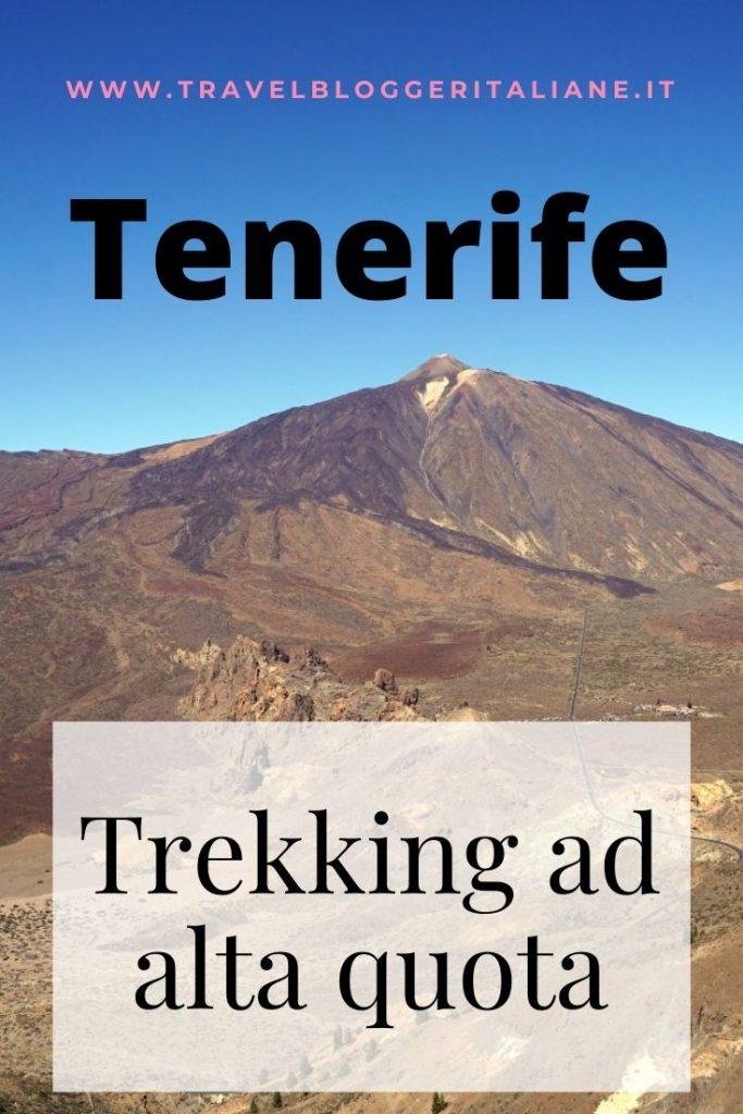 Trekking nel Parco naturale del Teide