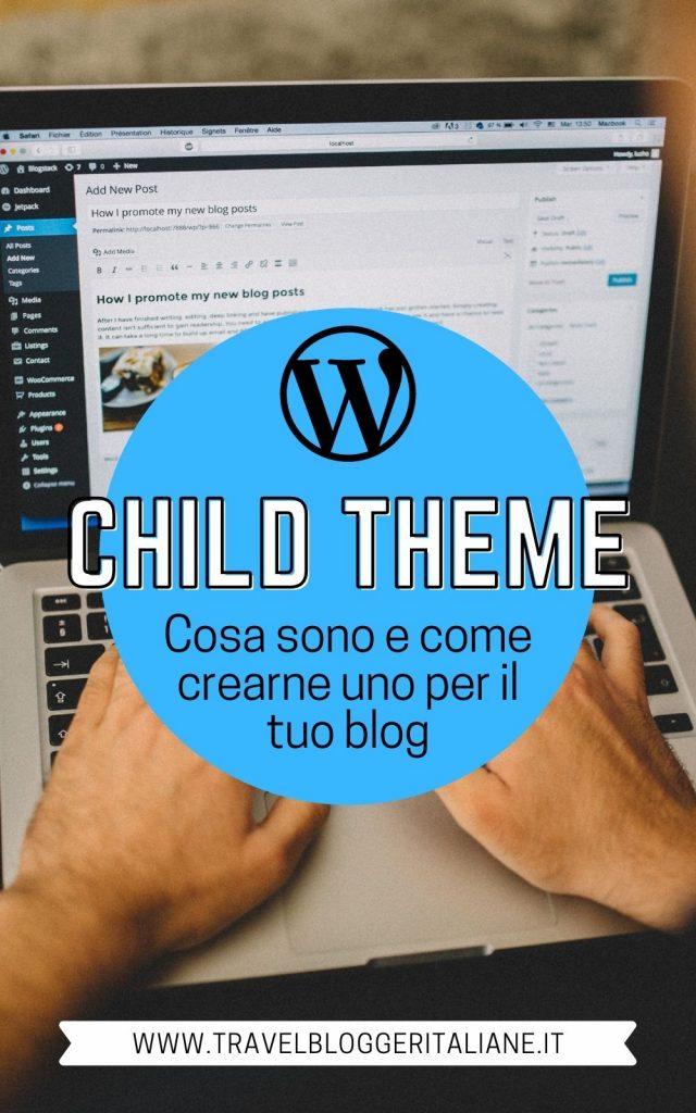 Tema Child di WordPress: cos'è e come crearlo