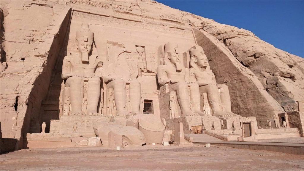 tempio Abu Simel in Egitto