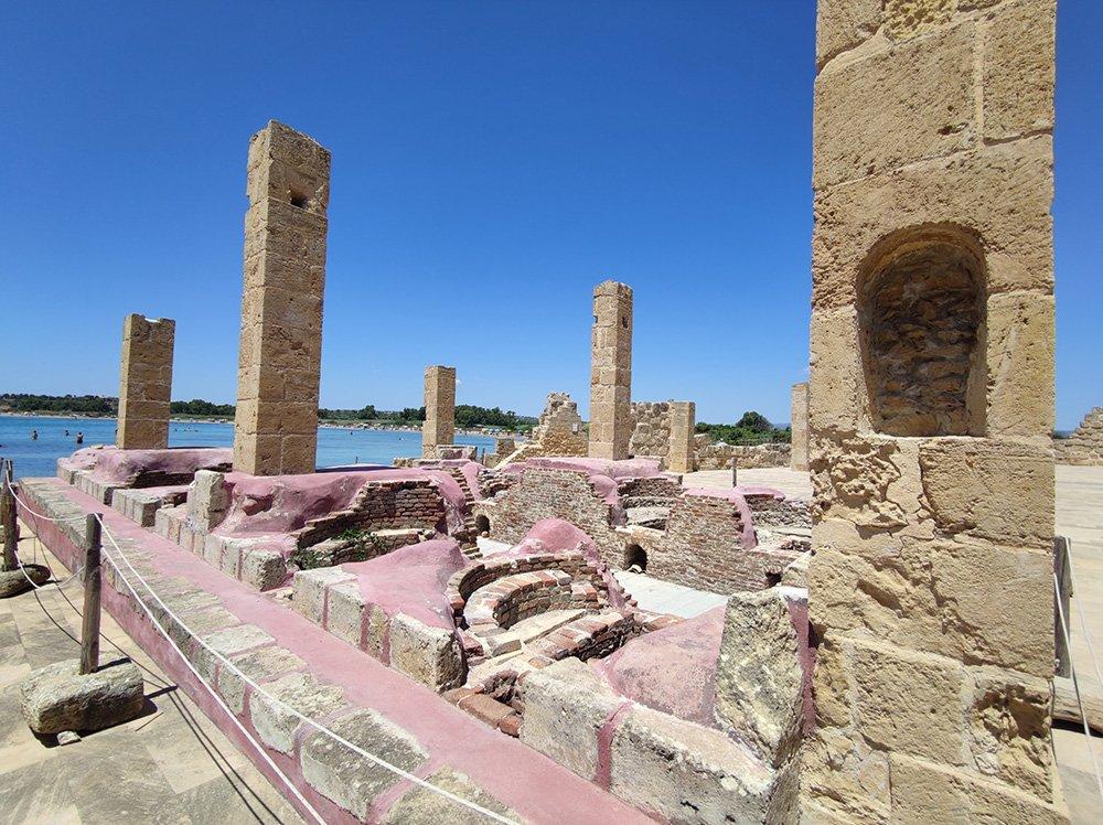 I resti della Tonnara di Vendicari a Noto