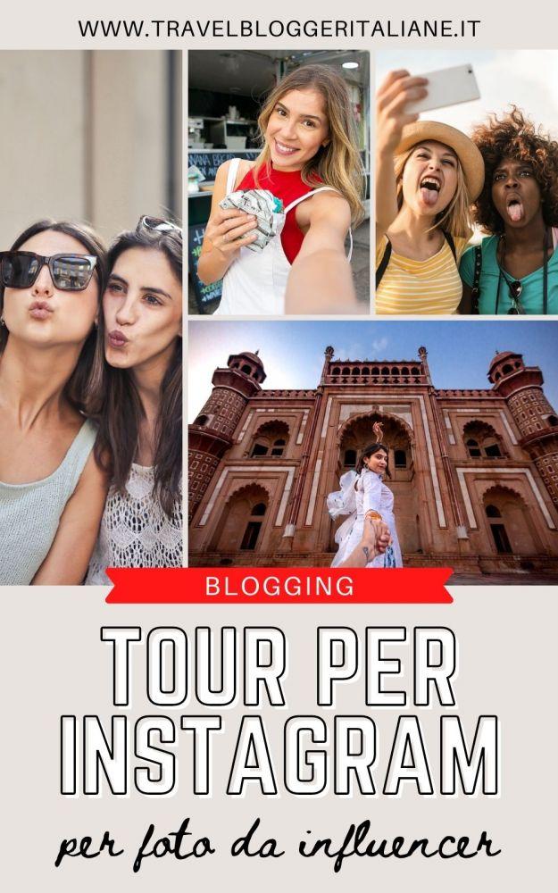 Tour per Instagram per scattare foto di viaggio