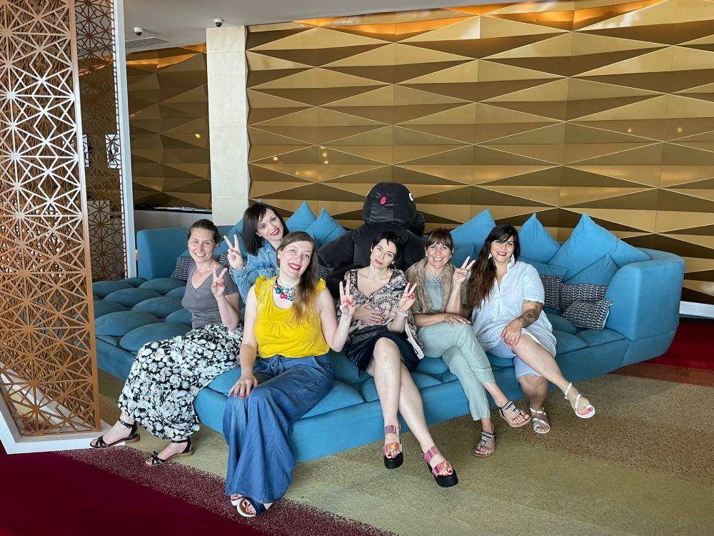 Le Travel Blogger Italiane a Dubai al V Hotel per il fam trip #TBIDubai2021