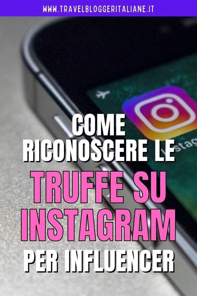 Come riconoscere le truffe per influencer su Instagram
