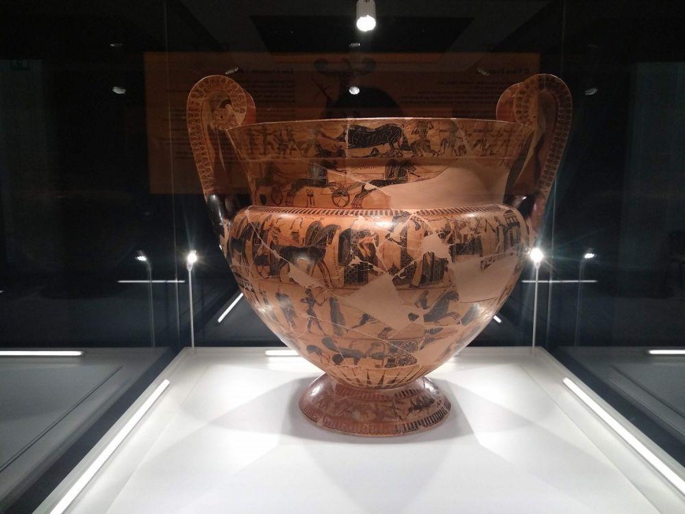 vaso françois - museo archeologico nazionale di firenze