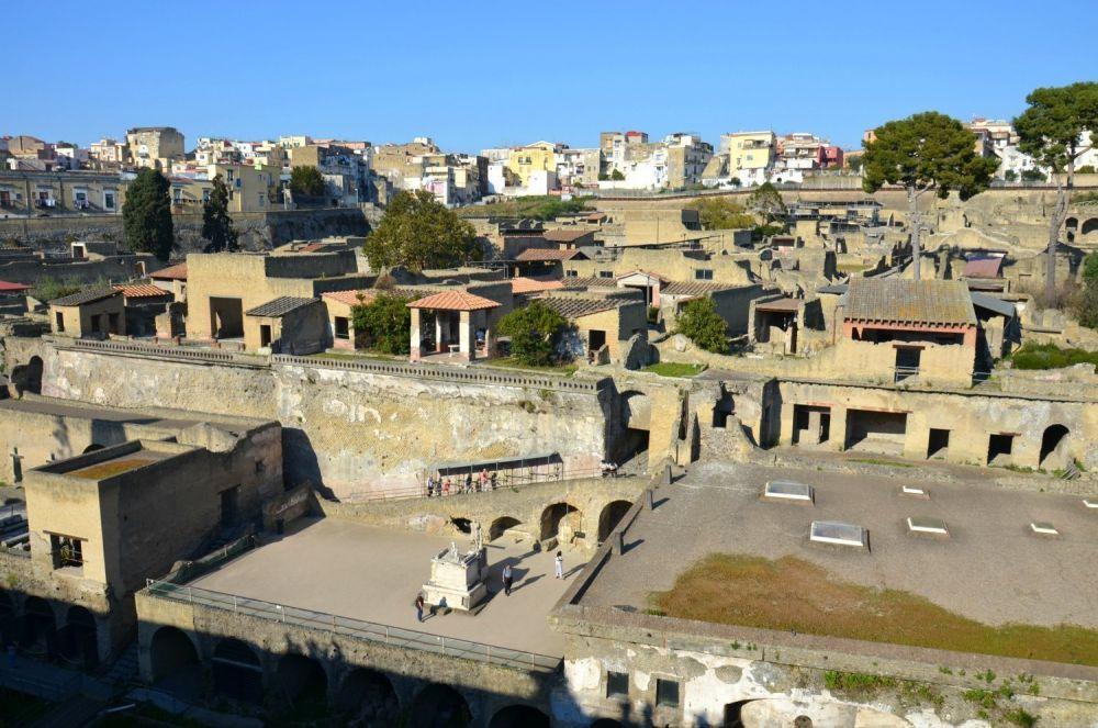 Vista panoramica di Ercolano, foto Avventure Ovunque