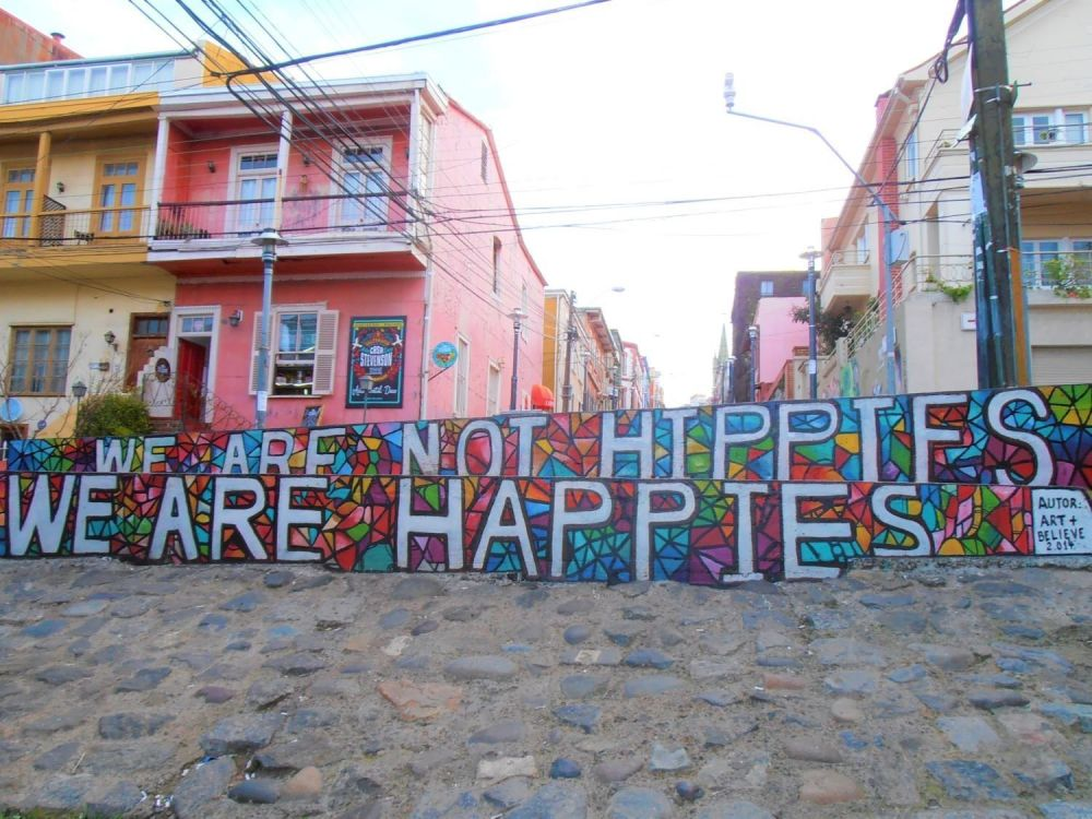 we are not hippies valparaiso